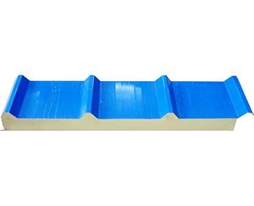 聚丙乙烯(EPS)980型搭接式瓦楞彩钢夹芯板